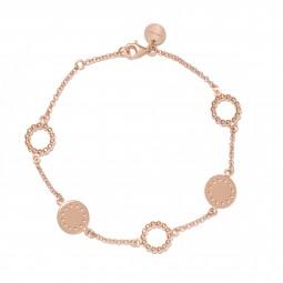 ID bracelet # 6 rosé