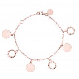 ID bracelet # 5 rosé