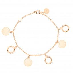 ID bracelet # 5 gold