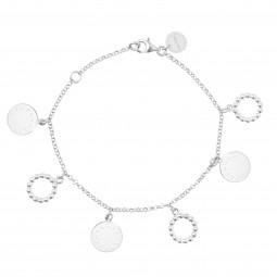 ID bracelet # 5 silver
