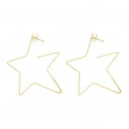 earring RISING STAR gold