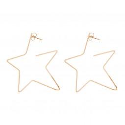 earring RISING STAR rosé