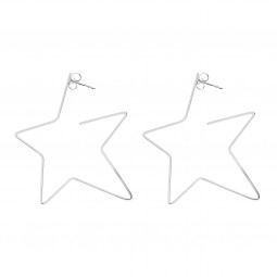 earring RISING STAR silver