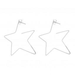 earring RISING STAR silver
