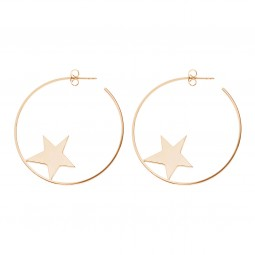 earring SHOOTINGSTAR rosé