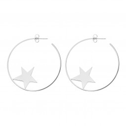 earring SHOOTINGSTAR silver