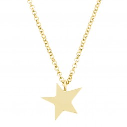 necklace LITTLE STAR gold