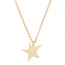 necklace LITTLE STAR rosé