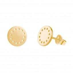 ID earring # 8 gold