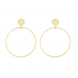 ID No 2 front hoop gold
