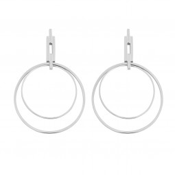earring NYC EXTENDED silver