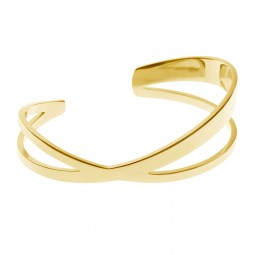 bangle CRISS-CROSS gold