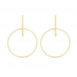 earring POWER gold