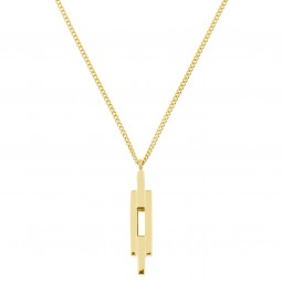 necklace NYC gold