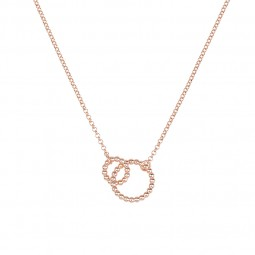 LOVE necklace rosé