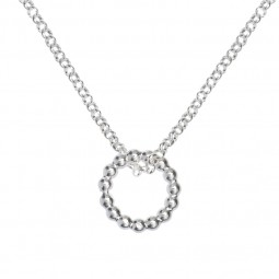 ID necklace # 1 silver