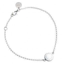 ID bracelet # 2 silver