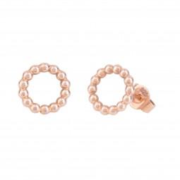 ID earring # 7 rosé