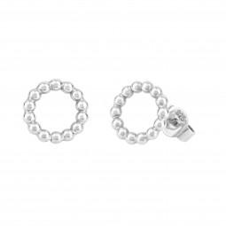 ID earring # 7 silver