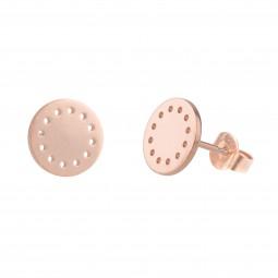 ID earring # 8 rosé