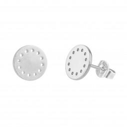 ID earring # 8 silver
