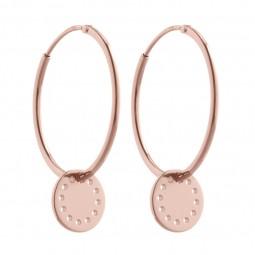 ID earring # 3 rosé