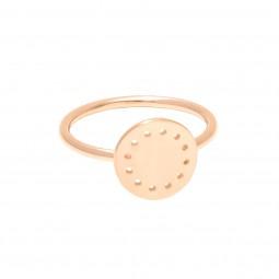 ID ring # 6 gold Gr. M