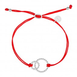 CHARITY bracelet silver *