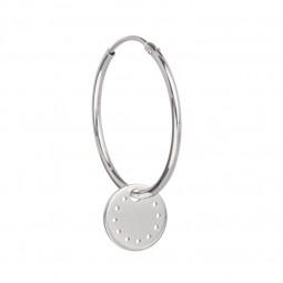 ID earring # 3 silver