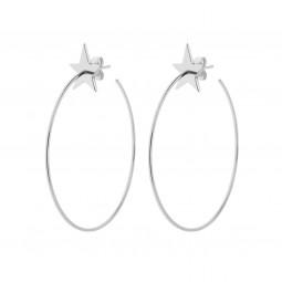 earring HIPSTAR silver