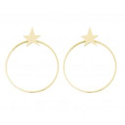 earring ROCKSTAR gold