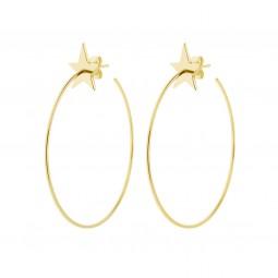 earring HIPSTAR gold