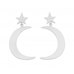 earring SWEET DREAMS silver