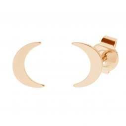 earring LITTLE MOON rosé