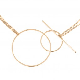 necklace INNER CIRCLE rosé