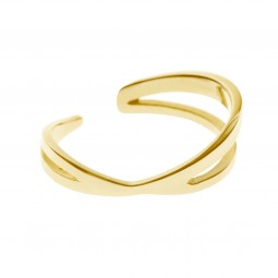 ring CRISS-CROSS gold