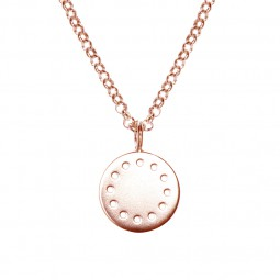 ID necklace # 2 rose