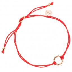 ID bracelet # 3 rose