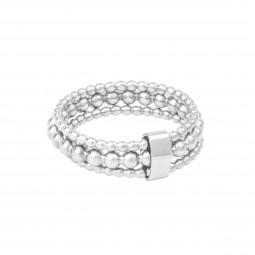 ID ring # 4 skinny silver