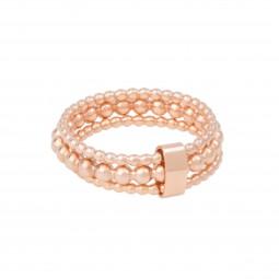 ID ring # 4 skinny rosé Gr. M