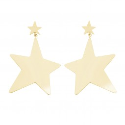 earring SUPERSTAR gold